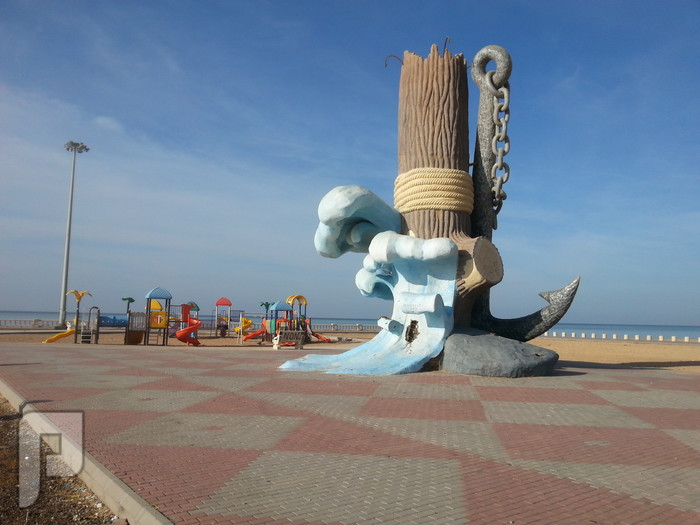 مناظر وصور من ينبع البحر المرساة منظر من كورنيش الشرم (ينبع البحر)