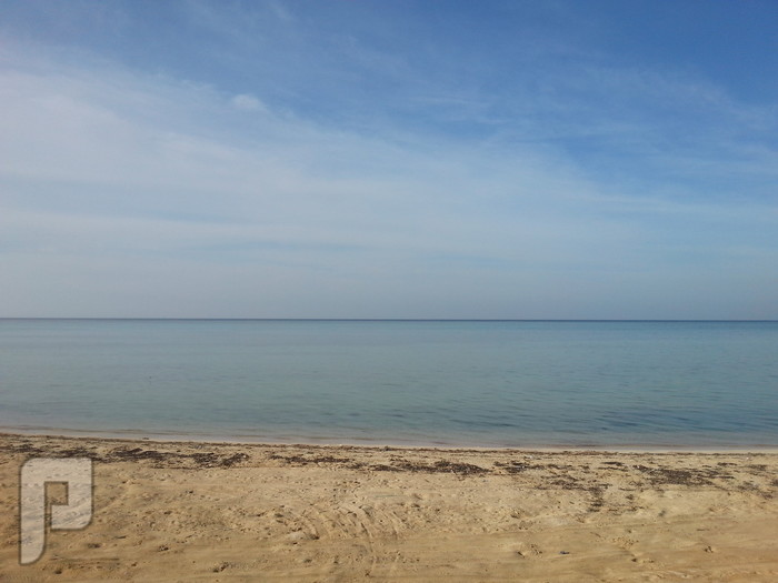 مناظر وصور من ينبع البحر منظر من شاطئ كورنيش الشرم (ينبع البحر)