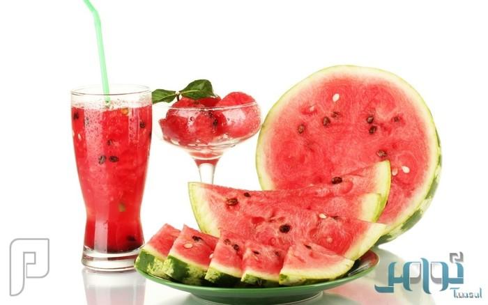 6 أسباب تجعل «عصير البطيخ» الأفضل بعد ممارسة الرياضة