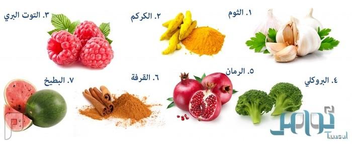 7 أطعمة تنظف الشرايين وتقي من أمراض القلب