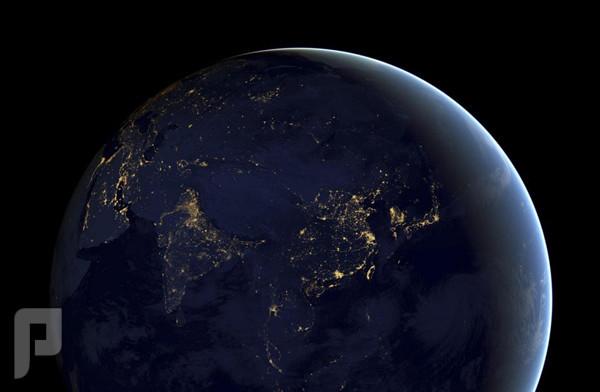 الكرة الأرضية ليلاً الكرة الأرضية ليلاً