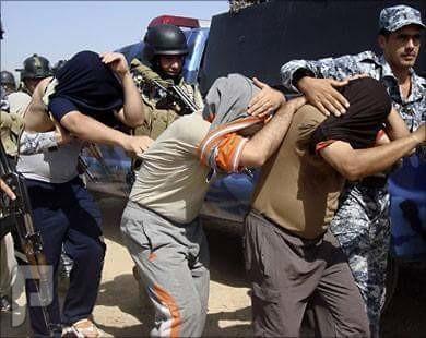 أهل  السنة  والجماعة  في  العراق  يحرقون  ويعتقلون أهل  السنه  بتكريت