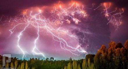 هذا خلق الله ( ظواهر طبيعية غريبة ) البرق البركاني