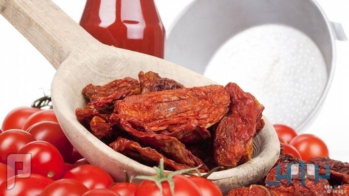 دراسة أمريكية: الطماطم المجففة صحية أكثر من الطازجة