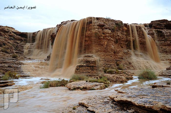 شلالات محافظة الغاط 1437 شلالات محافظة الغاط 1437