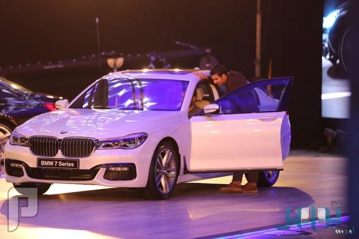 بالصور.. إطلاق سيارات BMW الفئة السابعة في المملكة