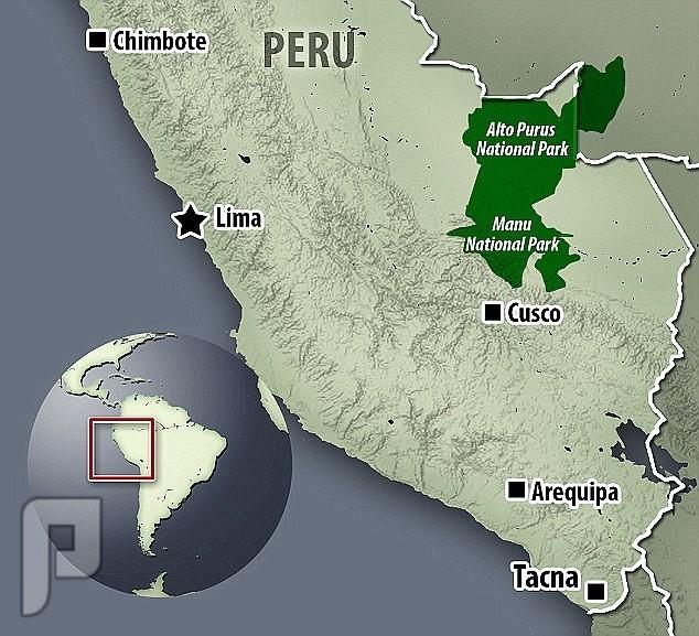 صور نادرة لقبيلة ماشكو بيرو المنعزلة عن العالم