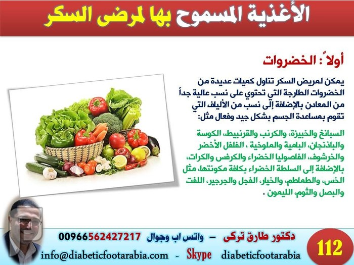 تعرف على ماهي الاطعمة الممنوعة و المسموحة لمريض السكري| دكتور طارق تركى