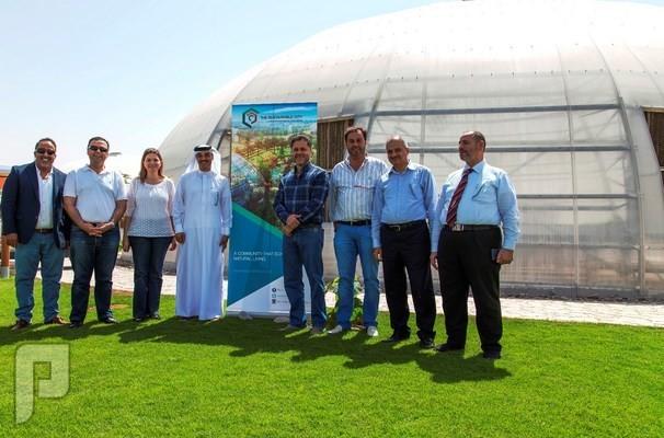 """تعزيز التعاون مع وفد """"دبي للعقارات"""""""