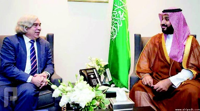 الأمير محمد بن سلمان يبحث فرص التعاون