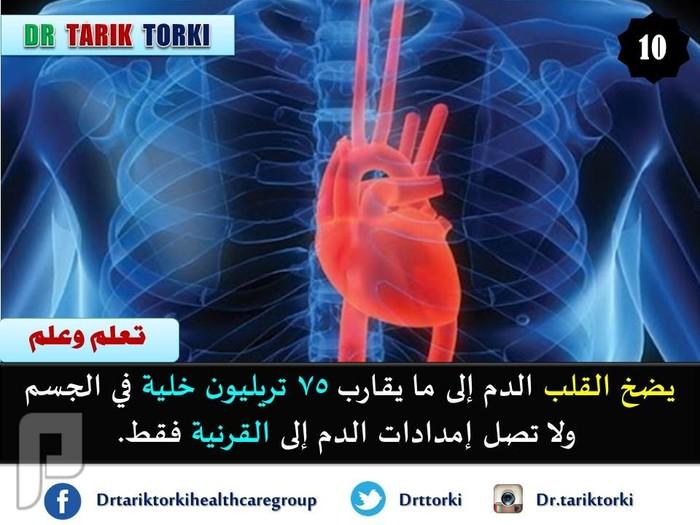 معلومات رائعة لا تعرفها عن قلبك تعرف عليها الان | دكتور طارق تركى