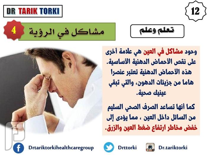10 علامات تدل على نقص أوميغا 3 تعرف عليها   دكتور طارق تركى