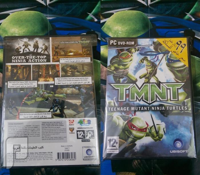 منتجات سلاحف النينجا للبيع - toys - dvd - puzzle ب 100 ريال