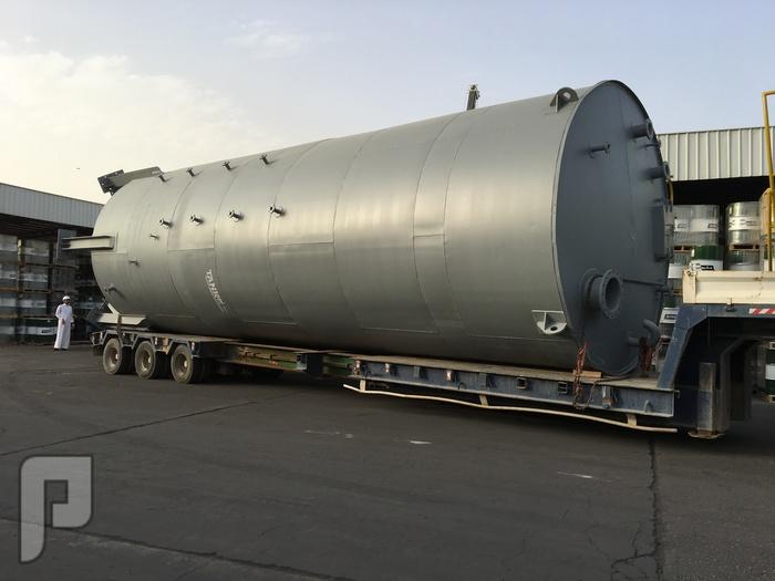تصنيع خزان عامودي طولي Vertical tanks