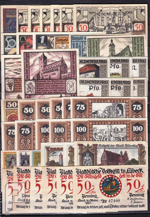 مجموعات عملات المانيه نوت جلد - 1920-جمال وندرة