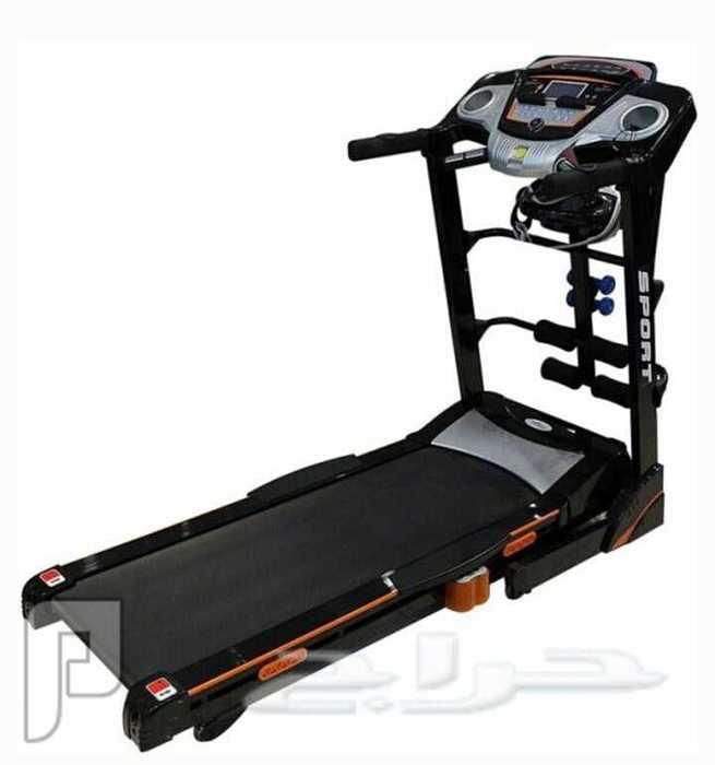 وصل حديثاً جهاز جري خاص للأوزان الثقيله يتحمل وزن الى 150 كيلو