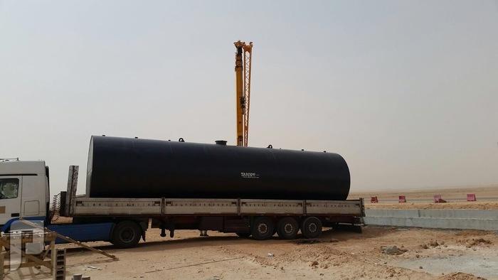خزانات وقود الديزل - Diesel fuel tanks