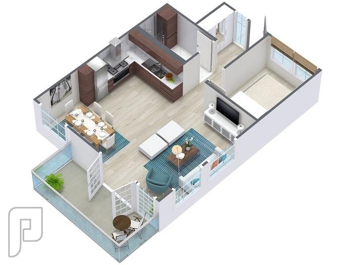 تحويل المخططات المعمارية إلى 3D