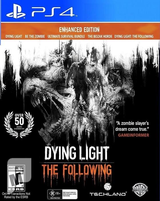 لعبة Dying Light Enhanced Edition PS4 داينق لايت 2 إصدار خاص بكامل الإضافات لعبة الزومبي الشهيرة إصدار رقم 2 الجديد