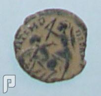 مجموعة من العملات الاثرية وبعض القطع