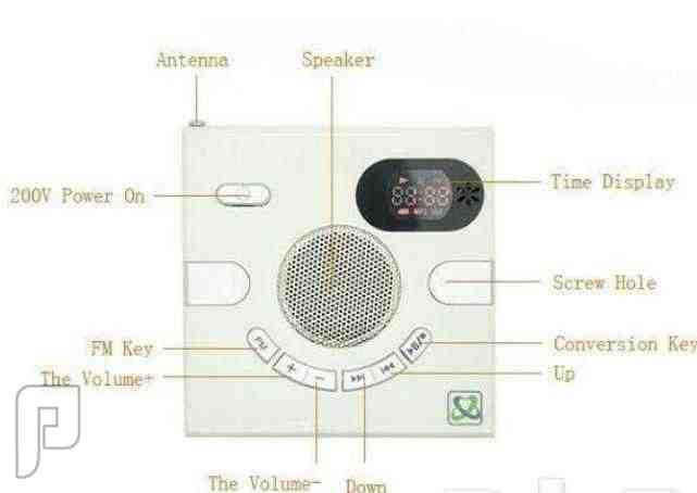راديو الفيش الجداري العجيب