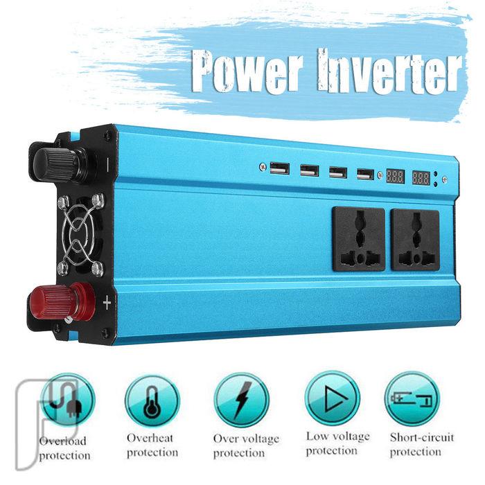ليد سيارات أقوي إضاءة عرض خااص محول كهرباء من 12 فولت    400ريال فقط  3000 واط