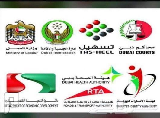 خدمات تعقيب بجميع الدوائر الحكومية في دبي