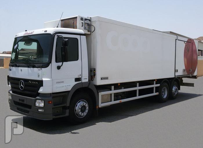 شاسيه مسكس مرسيدس بثلاجة موديل 2006 الحجم 2536