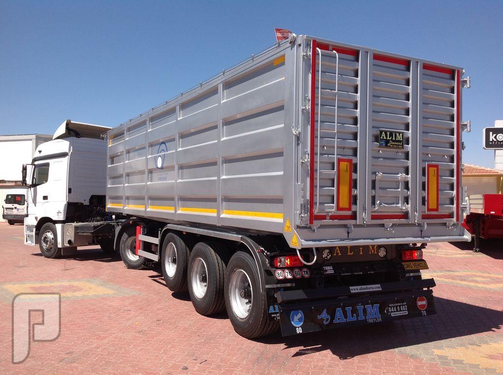 العربات نصف المقطورة شاحنة نقل الحبوب،  Grain Trailer