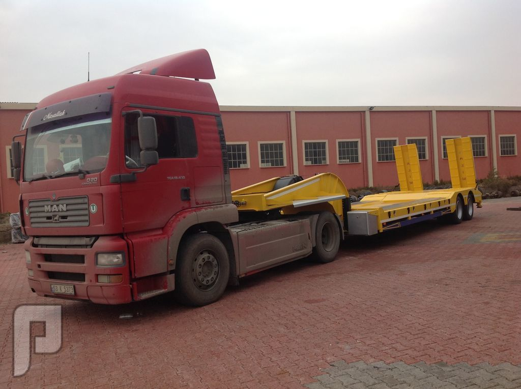 الفئة العربات نصف المقطورة عربة مقطورة مسطحة منخفضة