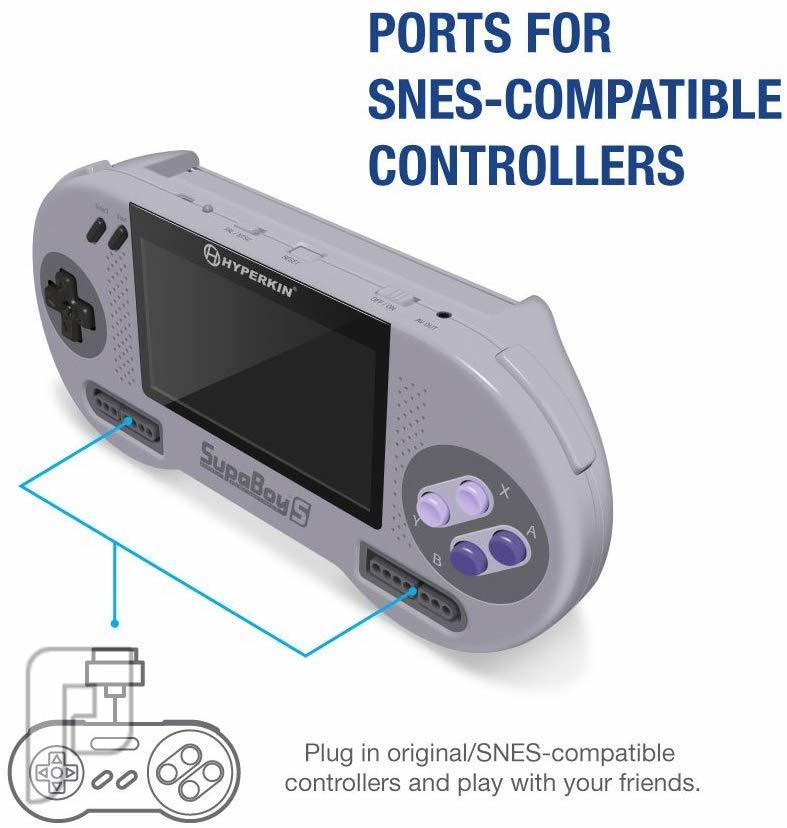 جديد جهاز محمول SUPERBOY S لتشغيل العاب SNES