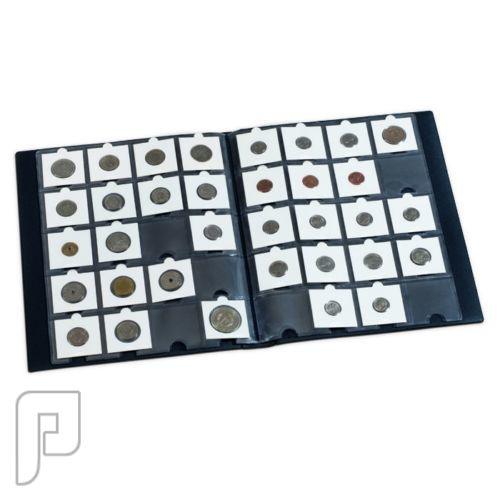 للبيع ألبوم لحفظ العملات المعدنية