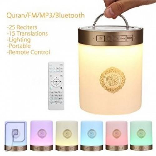 سماعه القرآن المضيئة Portable quran speaker sq 112 touch lamp
