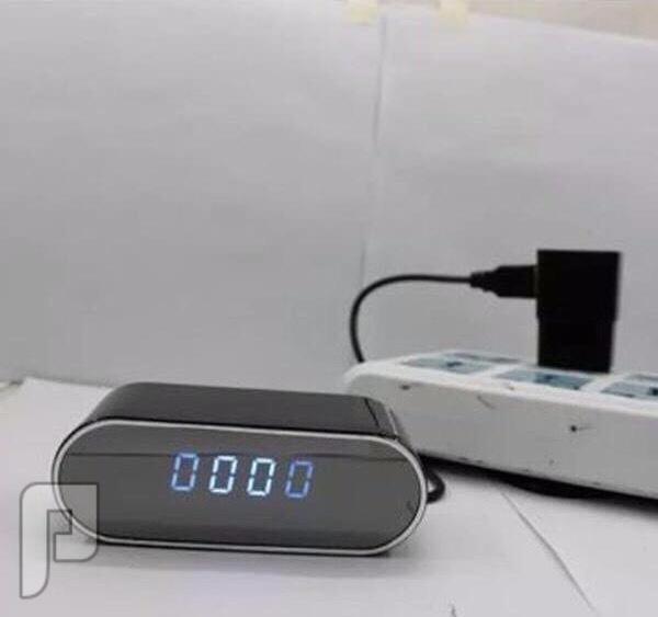 ساعة تنبية كاميرا واي فاي مباشر