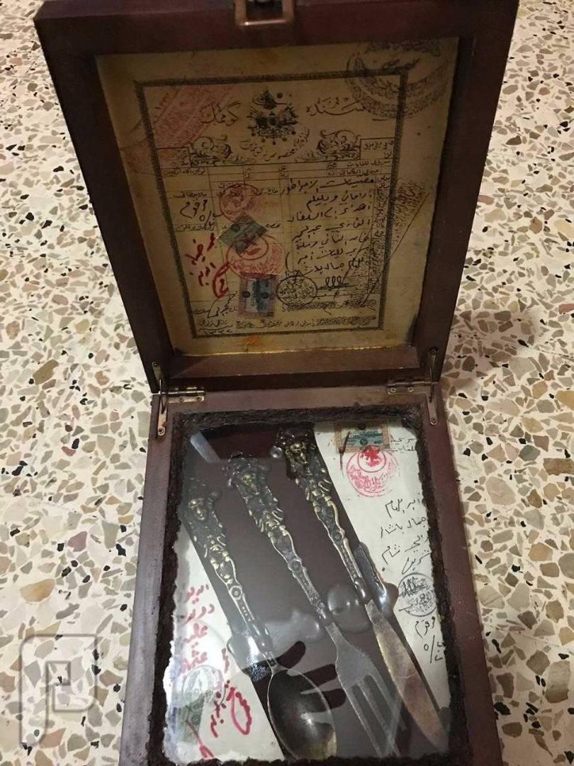 قطعة نادرة اهداء من الامبراطور الألماني الى السلطان العثماني