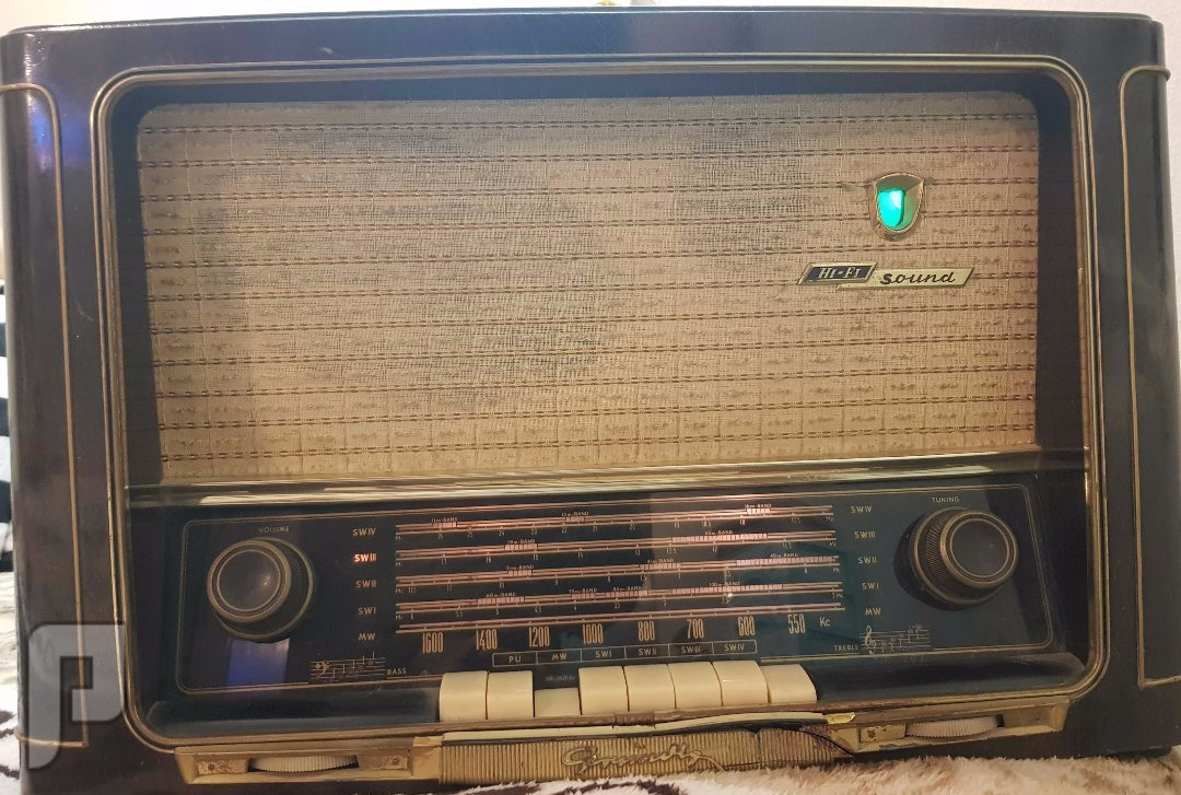 راديو قديم جدا