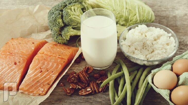 أطعمة مفيدة لصحة العظام.