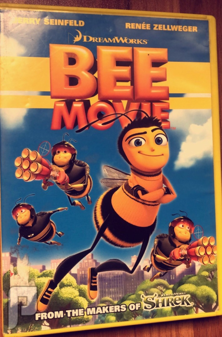 فلم DVD  BEE movie