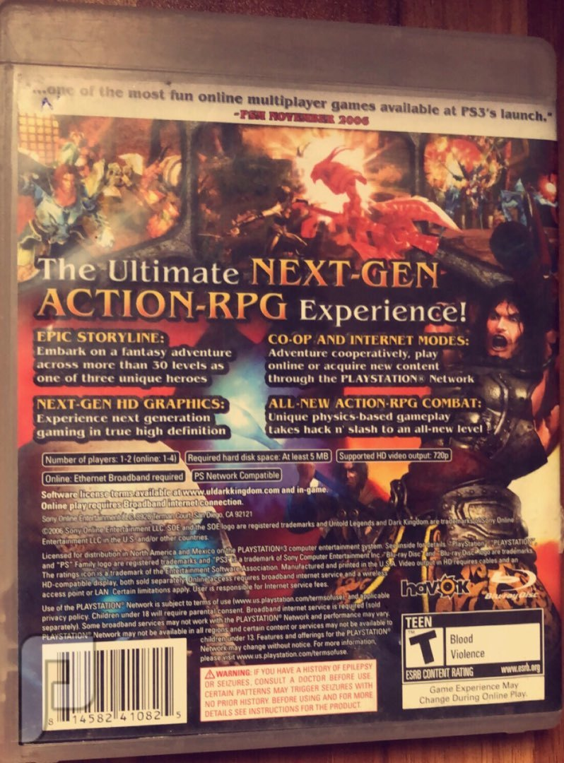 لعبة Dark kingdom ps3 بليستيشن 3