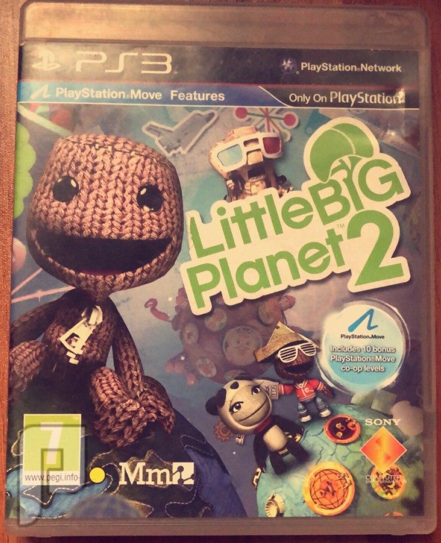 لعبة Little Big planet2. Ps3