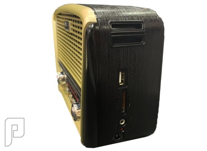 جهاز الراديو الكلاسيكي  ومشغل MP3 وكشاف