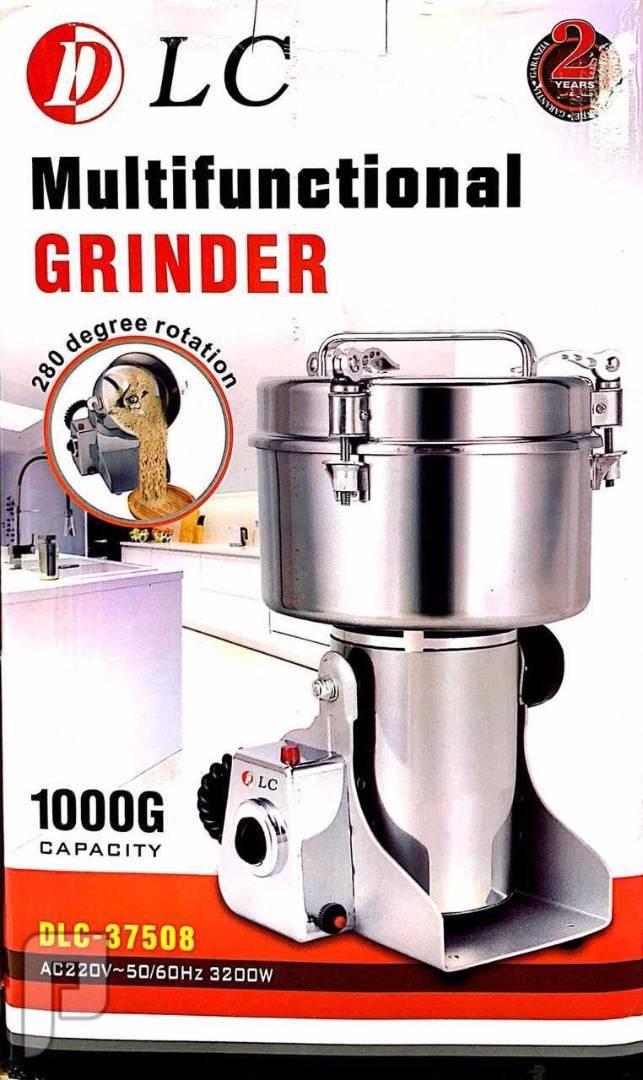 مطحنة القهوة والبهارات المنزلية المصنوع من الاستانلس ستيل بالكامل من DLC