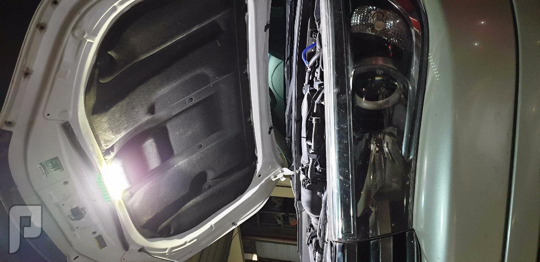 تركيب ليد (LED) لكبوت جميع انواع السيارات