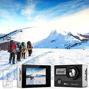 كاميرا اكشن بدقة 4K 20MP ULTRA HD الجديدة فائق الوضوح