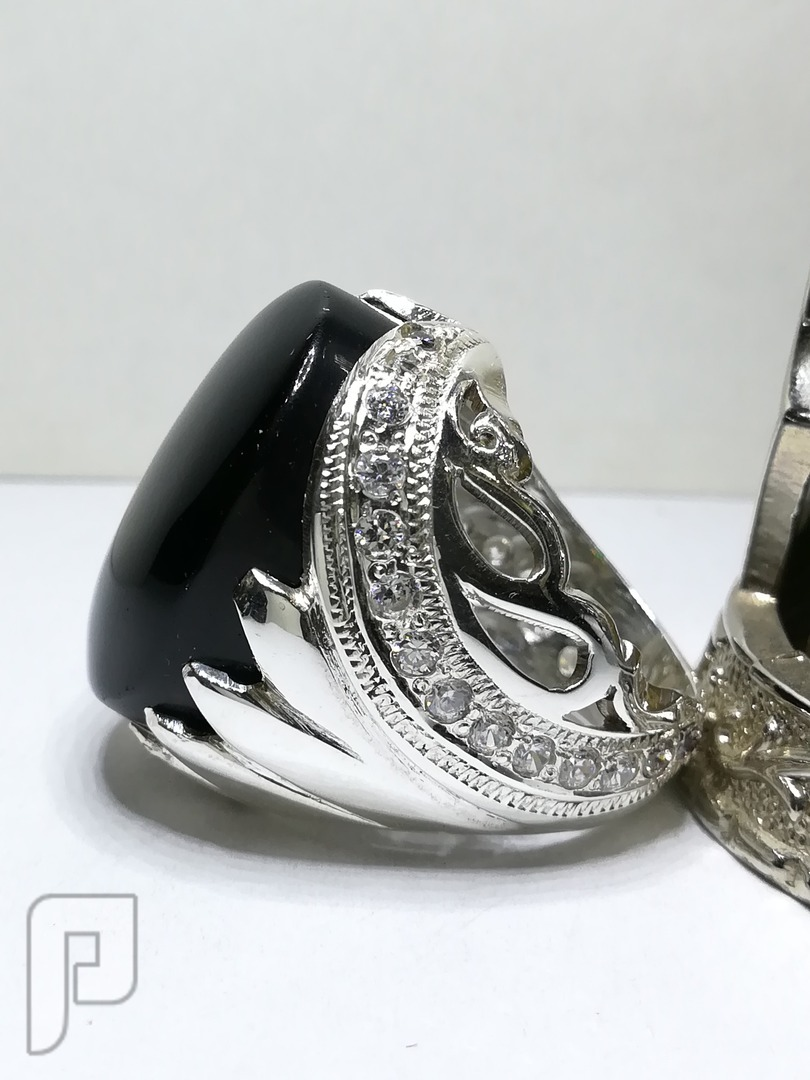 خاتم عقيق افريقي راهي ملكي ملكي