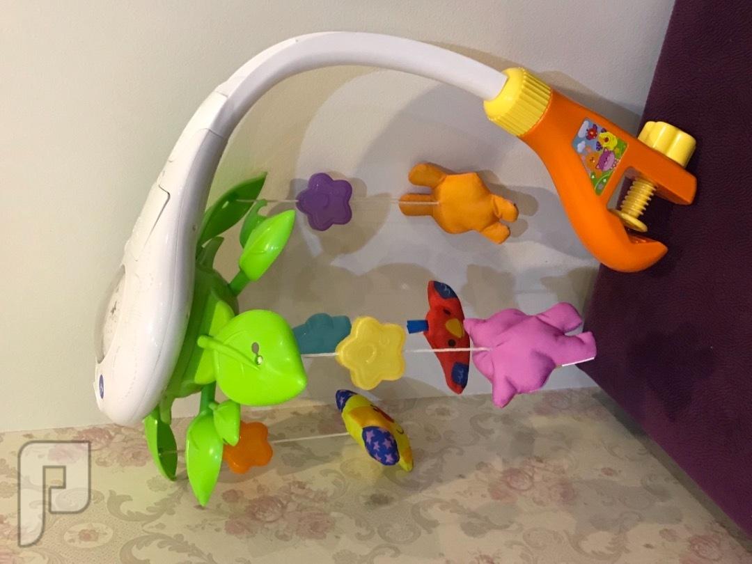 لعبة أطفال موسيقية للسرير مع إضاءة شكل اللعبة كاملة
