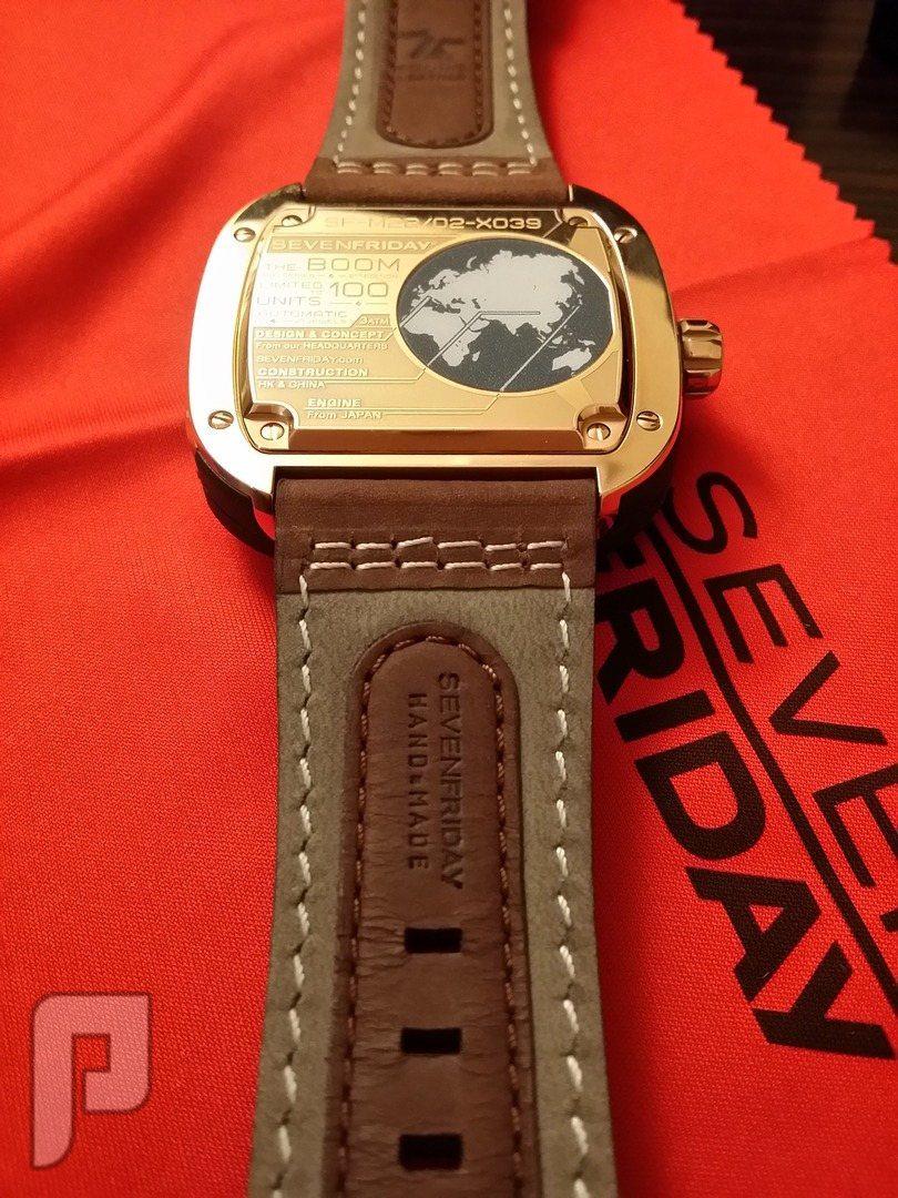 للبيع ساعة سفن فرايدي اصلية اصدار خاص sevenfriday بالعربية اصدار خاص محدود 1 من 100 فقط مرقمة