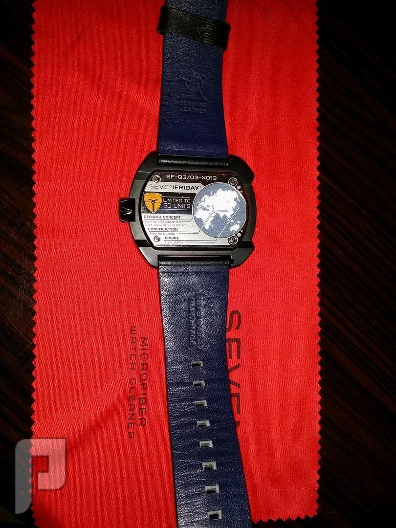 للبيع ساعة سفن فرايدي اصلية Sevenfriday watch اصدار محدود اصدار خاص محدود 1 من 50 بالعالم مرقمة
