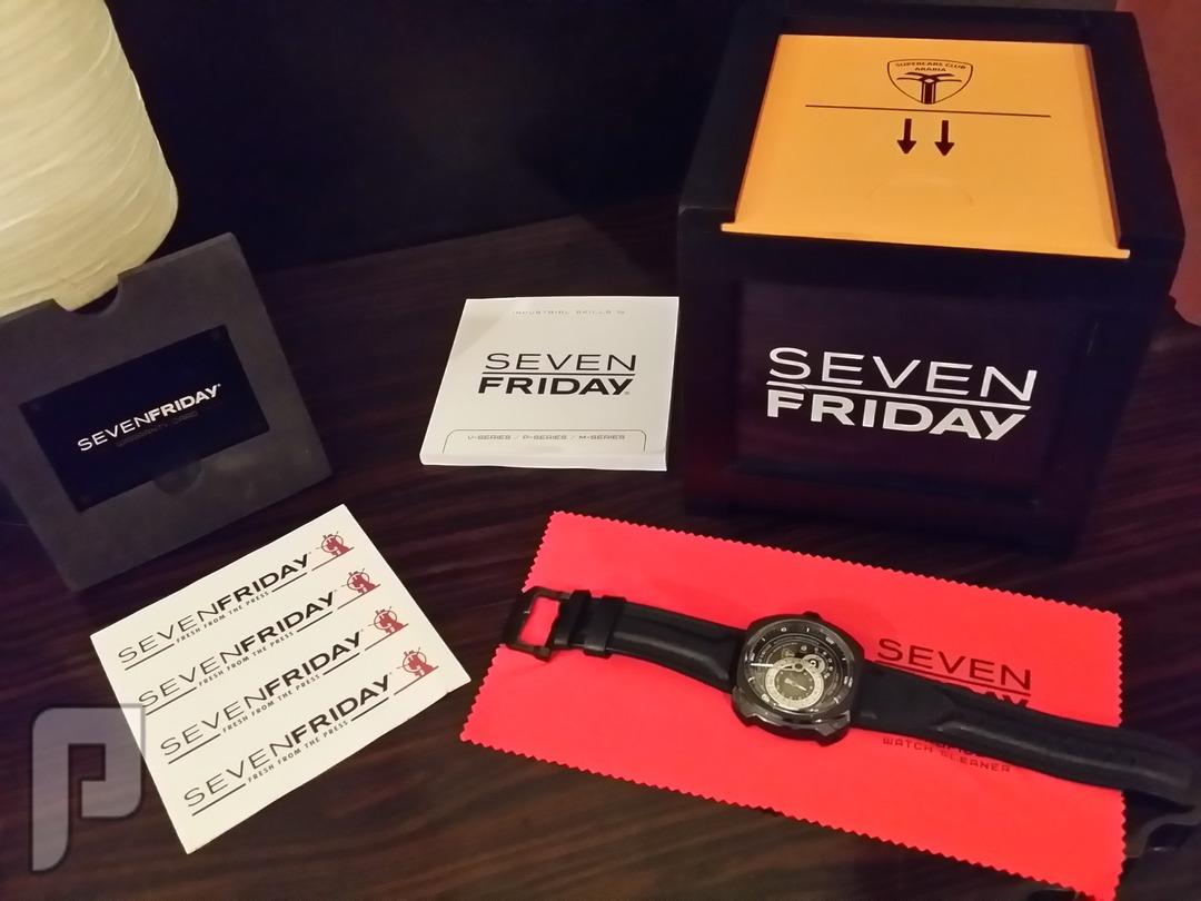 للبيع ساعة سفن فرايدي اصلية Sevenfriday watch اصدار محدود اغراضها كاملة بالضمان