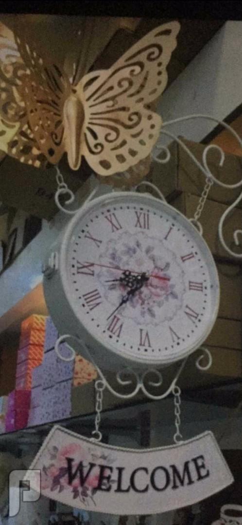 ساعة حائط جانبية معلقه ب115